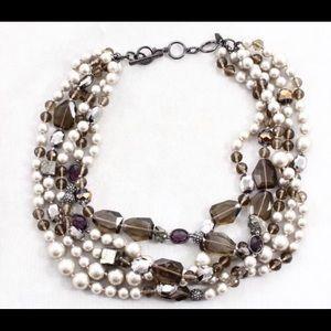 Stella & Dot 5 Strand Necklace